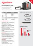 Sistem profesional de taiere cu plasma HYPERTHERM - Powermax 45 XP