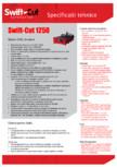 Specificatii tehnice Swift Cut1250 SWIFT CUT - PRO 1250
