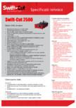 Specificatii tehnice Swift Cut 2500 SWIFT CUT - PRO 2500