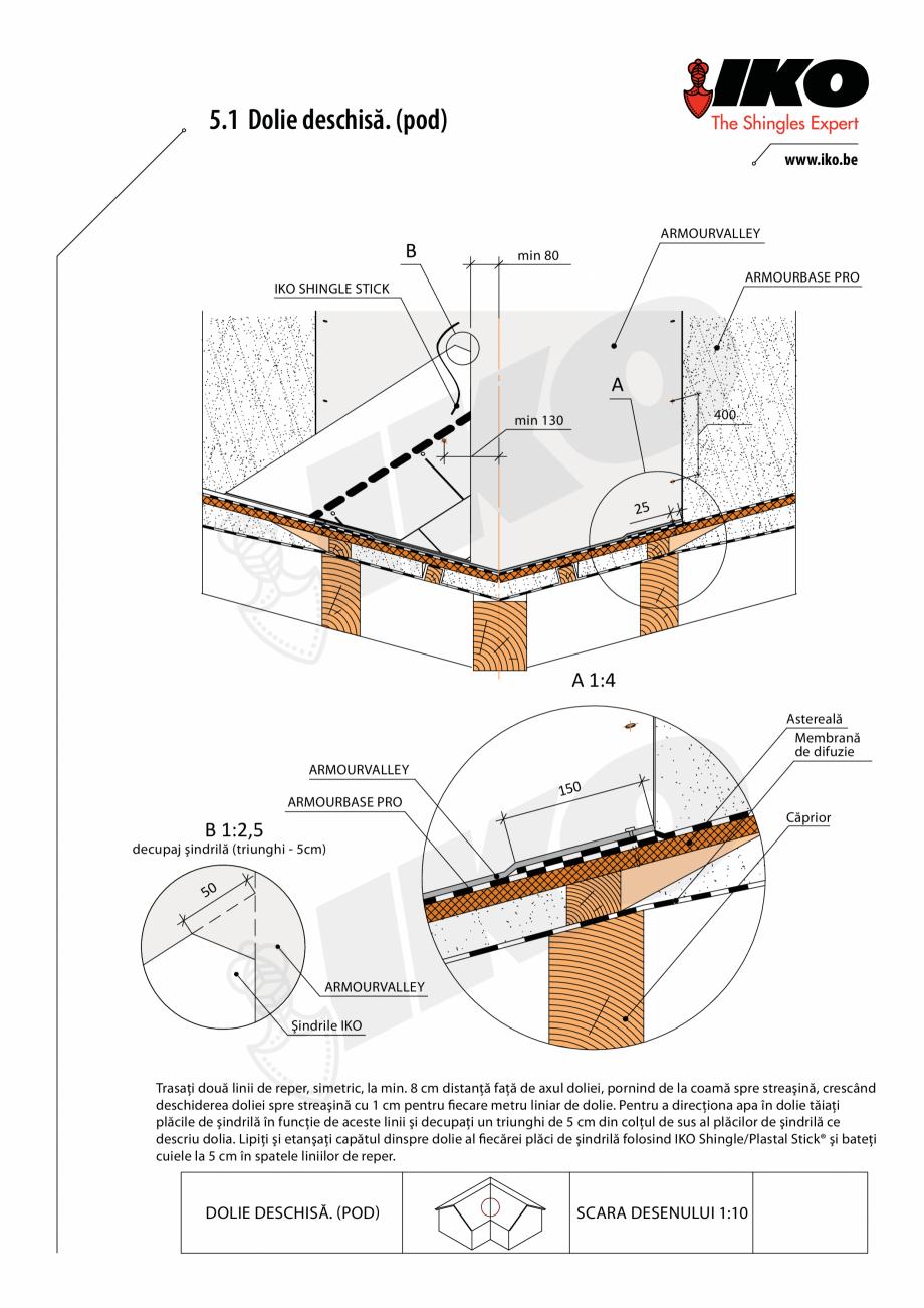 Pagina 1 - CAD-PDF Detaliu dolie IKO Detaliu de produs