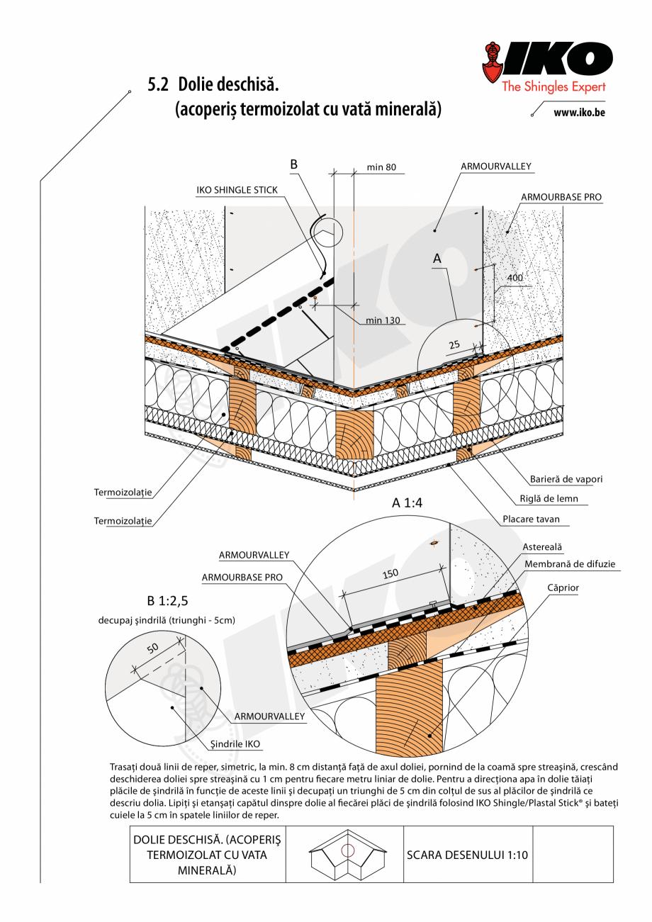 Pagina 2 - CAD-PDF Detaliu dolie IKO Detaliu de produs