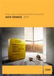 Date tehnice pentru sisteme complete de zidarie termoizolanta YTONG