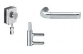 Accesorii pentru usi din sticla HAFELE ofera o gama larga de accesorii si feronerie pentru usi din sticla destinate zonelor rezidentiale si proiectelor.
