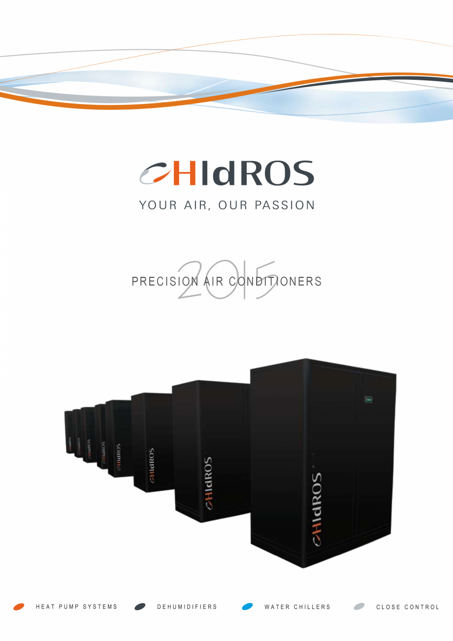 Pagina 1 - Catalog sisteme de climatizare Close Control HACE DXA, DXW Catalog, brosura Engleza...