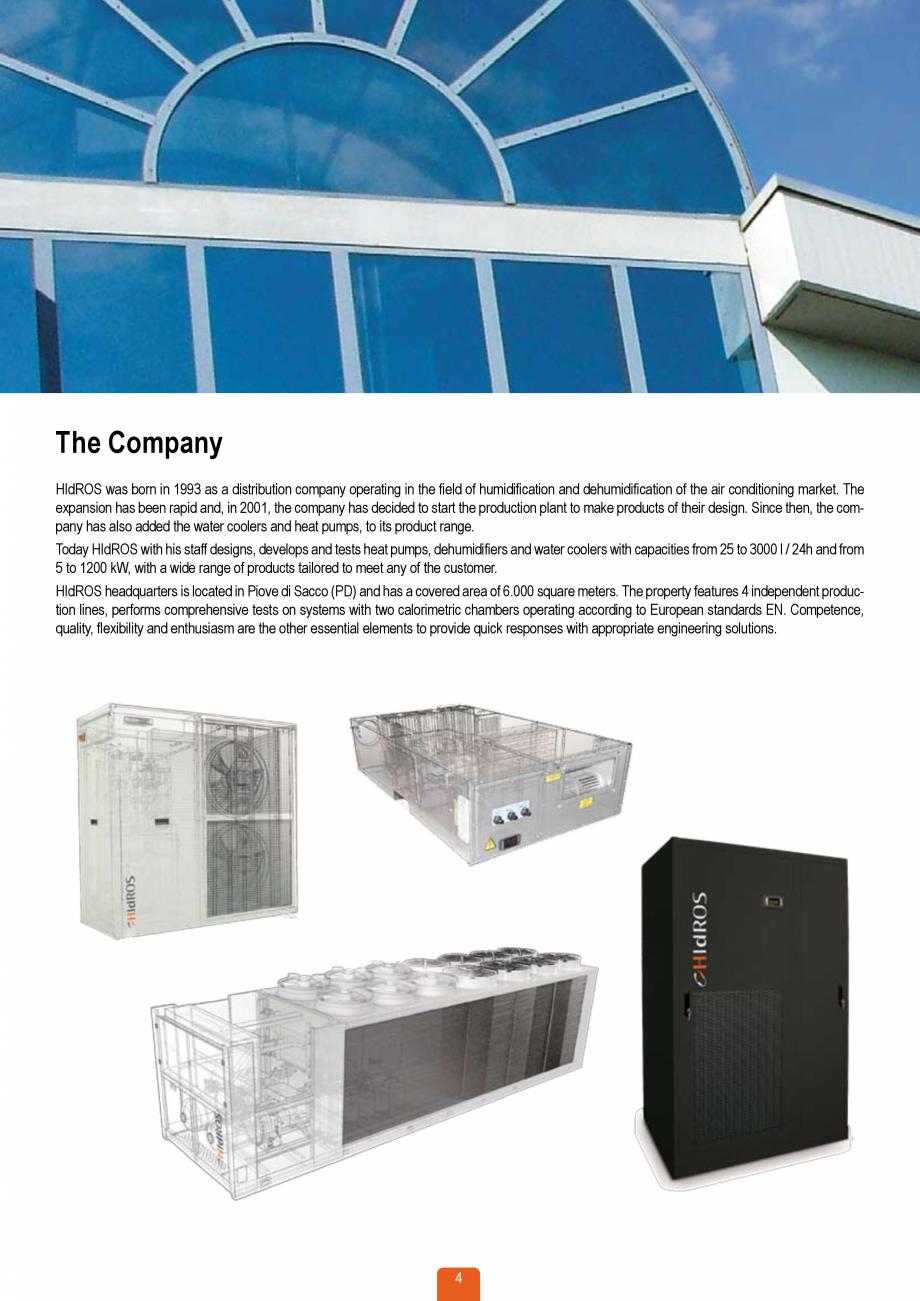 Pagina 3 - Catalog sisteme de climatizare Close Control HACE DXA, DXW Catalog, brosura Engleza que...