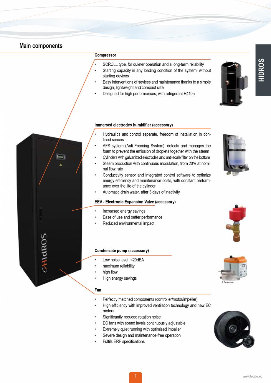 Pagina 6 - Catalog sisteme de climatizare Close Control HACE DXA, DXW Catalog, brosura Engleza of...