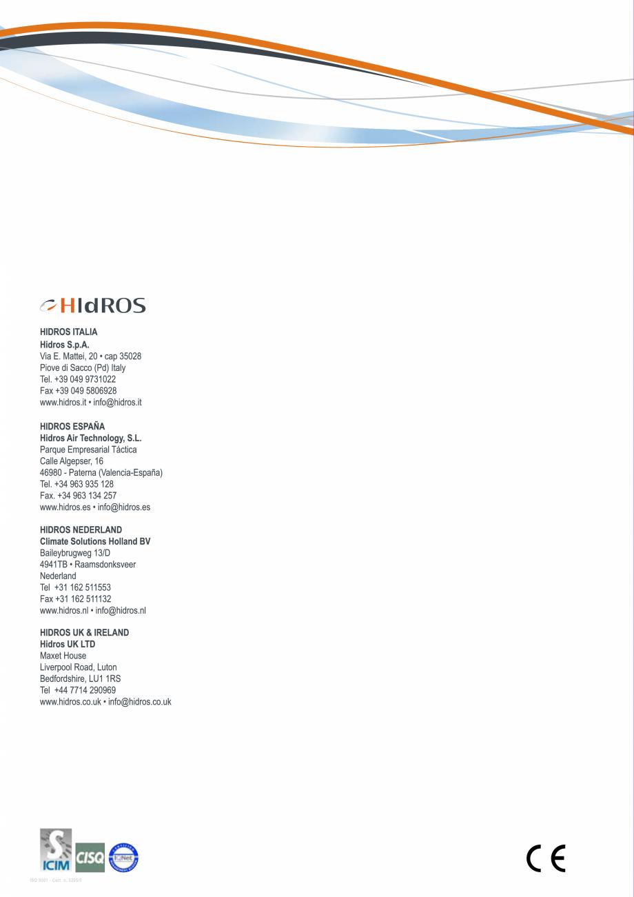 Pagina 27 - Catalog sisteme de climatizare Close Control HACE DXA, DXW Catalog, brosura Engleza y...