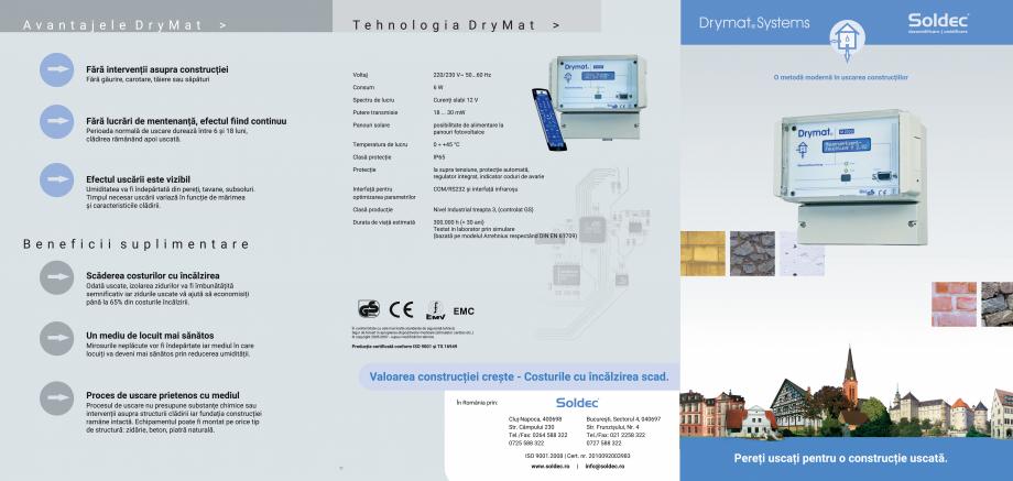 Pagina 2 - O metoda moderna pentru uscarea constructiilor - Drymat Drymat Catalog, brosura Romana