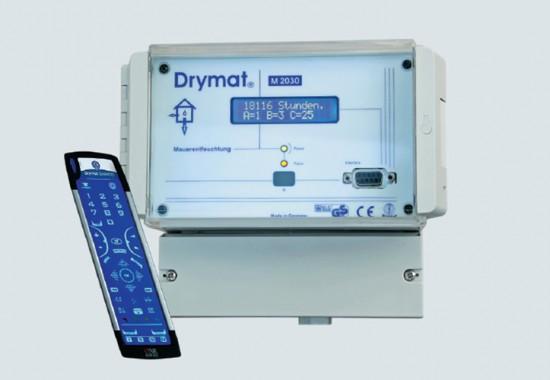 Sistem pentru dezumidificarea si desalinizarea zidariei Drymat
