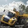 Dumper, camion articulat