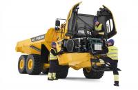Basculante, camioane Utilajele Volvo sunt diferite. Sunt concepute, construite si deservite intr-un mod diferit. Aceasta diferenta vine dintr-o traditie tehnica de peste 170 de ani.  O traditie care inseamna sa ne gandim in primul rand la oamenii care  folosesc efectiv aceste utilaje. Basculante, camioane: camioane articulate Volvo: A25E, A30E, A35E, A40E, A35EFS, A40EFS; camioane rigide Perlini: DP255, DP405, DP605, DP705 WD, DP905, DP70.