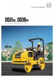 Compactor de asfalt Volvo DD31HF, DD38HF VOLVO - DD31HF, DD38HF