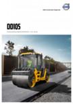 Compactor de asfalt Volvo DD105 VOLVO -