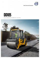 Compactor de asfalt Volvo DD105 VOLVO