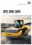 Compactor de sol Volvo SD75, SD115, SD135 VOLVO - SD75, SD115, SD135