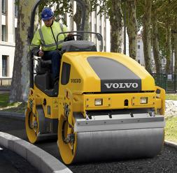 Compactoare pentru sol si asfalt VOLVO