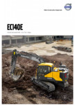 Excavator pe senile VOLVO - EC140E