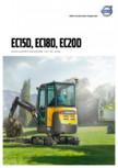 Excavator compact VOLVO - EC15D, EC18D, EC20D