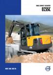 Excavator compact VOLVO - EC55C