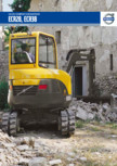 Excavator compact - Short Swing Radius VOLVO - ECR38D