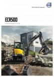 Excavator compact - Short Swing Radius VOLVO - ECR50D