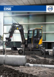 Excavator compact - Short Swing Radius VOLVO - ECR58D