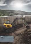 Excavator compact - Short Swing Radius VOLVO - ECR88D