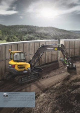Excavator compact - Short Swing Radius VOLVO