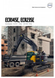 Excavator pe senile VOLVO -  ECR145E, ECR235E