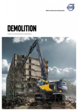 Echipamente pentru demolare la inaltime mare VOLVO