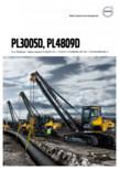 Lansatoare de conducte VOLVO - PL3005D, PL4809D
