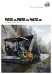 Finisoare de asfalt pe roti Volvo VOLVO - P5770C, P5870C, P6870C