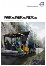 Finisoare de asfalt pe roti Volvo VOLVO