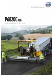 Finisoare de asfalt pe senile Volvo VOLVO - P6820C