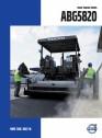 Finisoare de asfalt pe senile Volvo - ABG5820