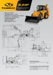 Buldoexcavator articulat VENIERI - 8.23F