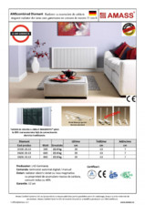 Radiator economic cu roca vulcanica AMASS