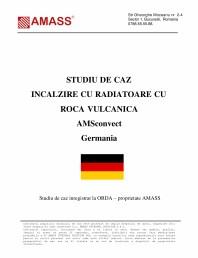 Studiu de caz - Incalzire cu radiatoare cu roca vulcanica