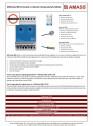 AMStemp 800 termostat cu detecție temperatura-umiditate