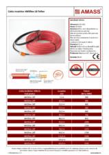 Cablu incalzitor AMASS