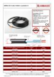 Cablu incalzitor cu protectie UV AMASS - AMSflex 30