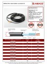 Cablu incalzitor cu protectie UV
