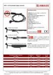Kit protectie inghet conducte cu termostat incorporat AMASS - AMSL-13