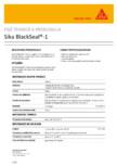 Sigilant bituminos pentru constructii SIKA - Sika® BlackSeal-1
