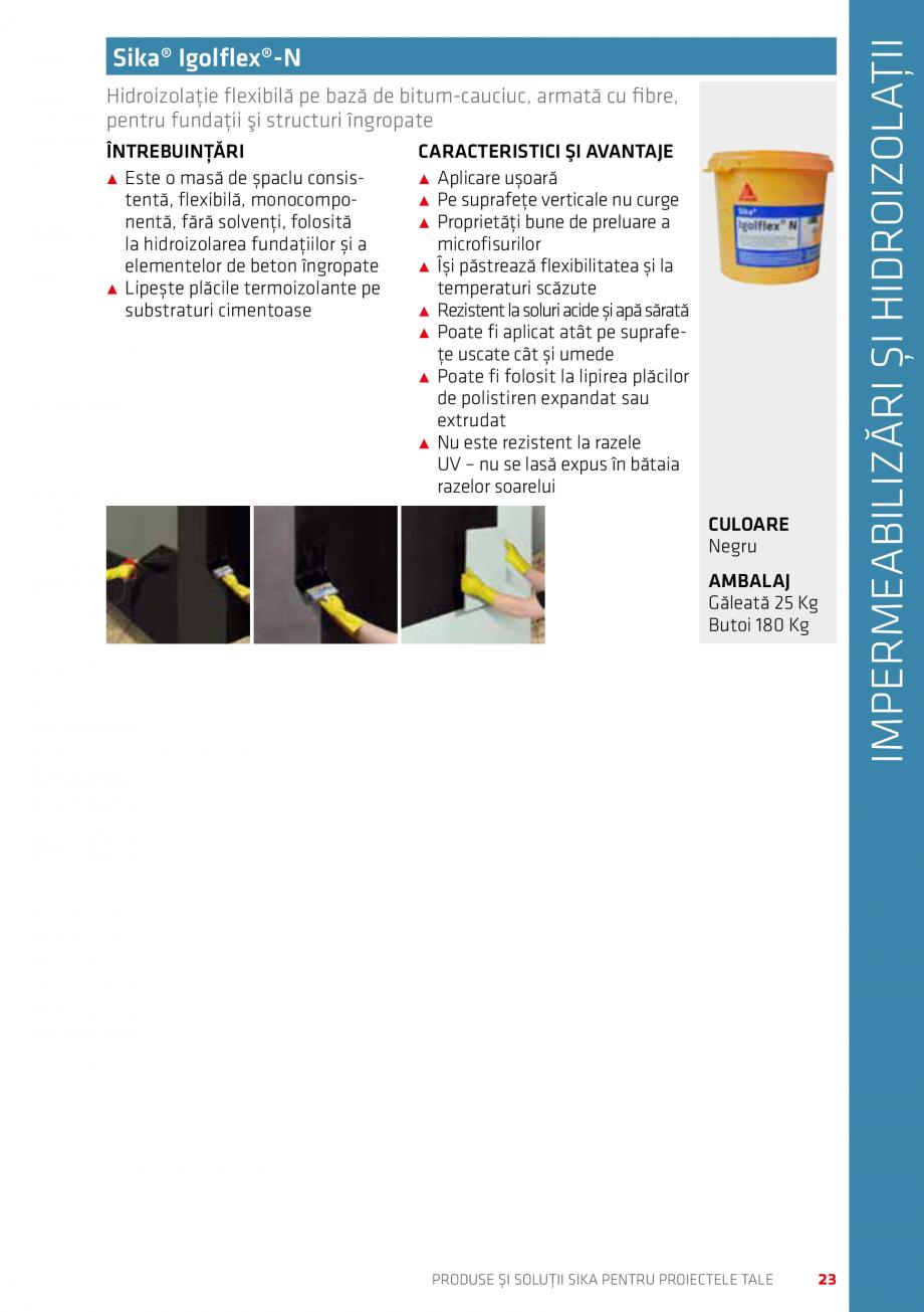 Pagina 23 - Produse si solutii Sika pentru proiectele tale  Catalog, brosura Romana � Etc ...