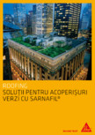 Solutii pentru acoperisuri verzi cu SARNAFIL