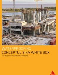 Conceptul Sika White Box pentru structuri din beton impermeabile
