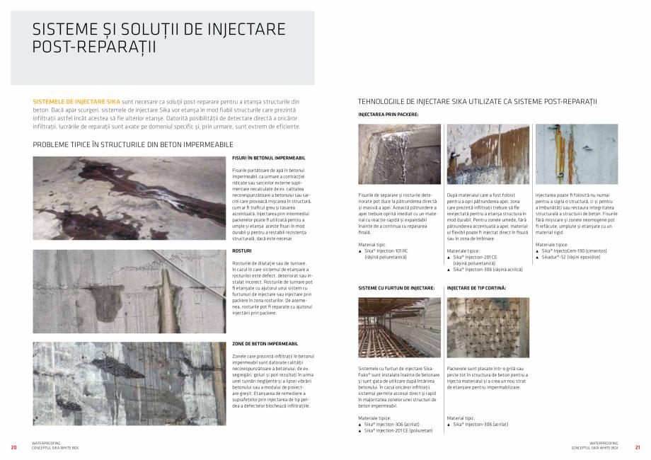 Pagina 11 - Conceptul Sika White Box pentru structuri din beton impermeabile  Catalog, brosura...