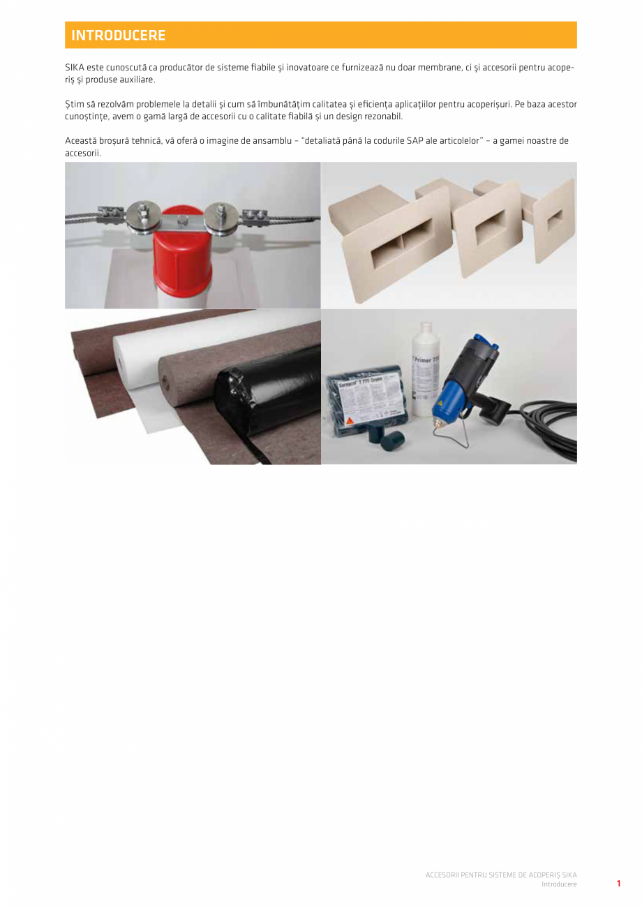 Pagina 5 - Accesorii pentru sisteme de acoperis  Catalog, brosura Romana g - rotund închis...