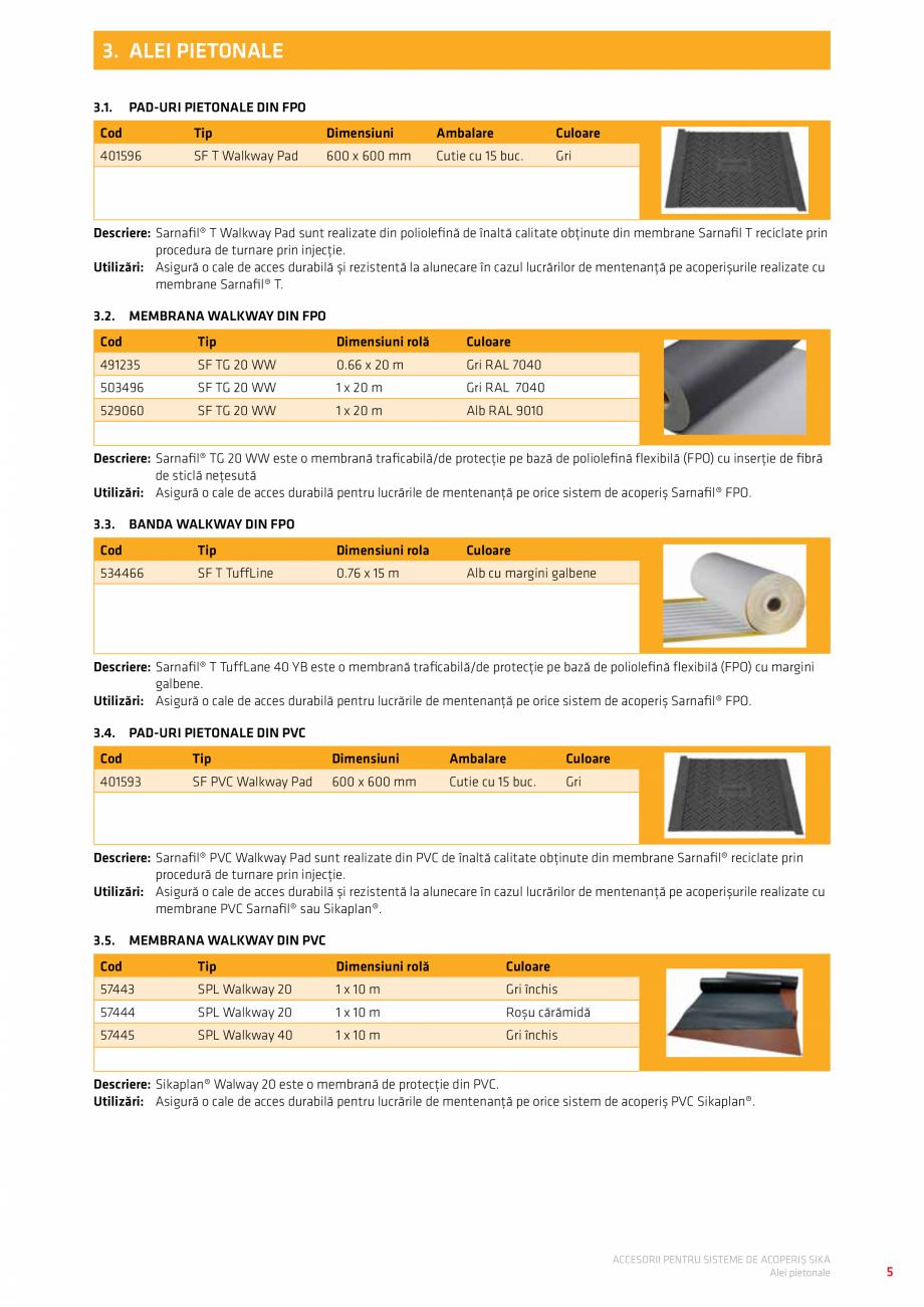 Pagina 9 - Accesorii pentru sisteme de acoperis  Catalog, brosura Romana...